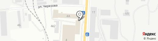 Факрос на карте Ижевска