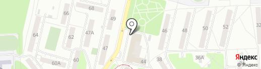 Магазин джинсовой одежды на карте Ижевска