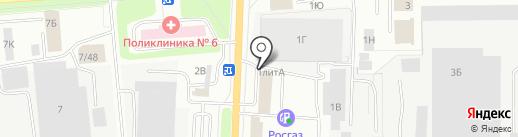 Фабрика карт на карте Ижевска