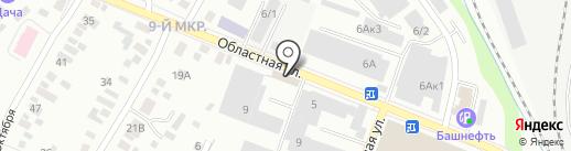 Оптово-розничная компания на карте Ижевска