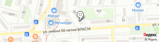 Мастерица на карте Ижевска