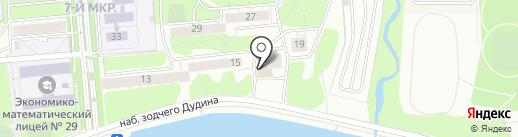Чайка Plaza на карте Ижевска