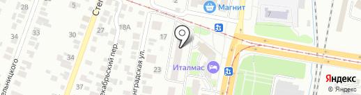 Онегина на карте Ижевска