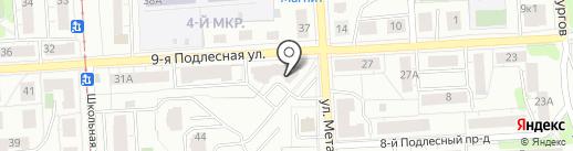 Авто-Европеец на карте Ижевска