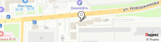 Старая крепость на карте Ижевска