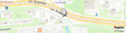 Точка спорта на карте Ижевска