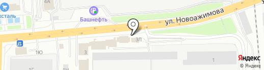 АвтоДом на карте Ижевска