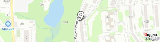 Адвокатский кабинет Белышева Д.С. на карте Ижевска