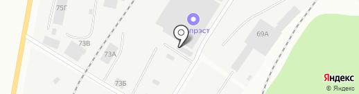 Втормет на карте Ижевска