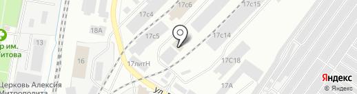 ЛЕСТОРГ на карте Ижевска