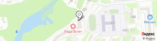 Заводы России-вахта на карте Ижевска