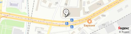СКАТ на карте Ижевска