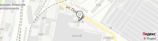 Грузовик на карте Ижевска