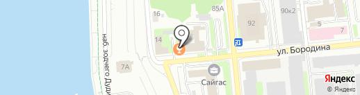 Dj`s bar на карте Ижевска