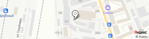 JustDrive на карте Ижевска