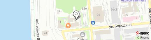 Аква-трейд на карте Ижевска