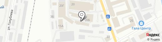 Автомагазин на карте Ижевска