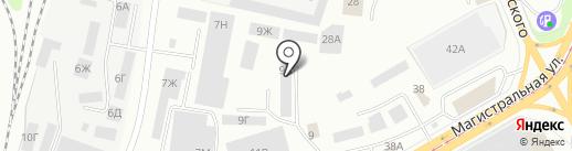ИжМеталлСервис на карте Ижевска