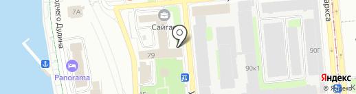 ДиаТех на карте Ижевска