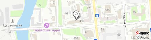 Адвокатский кабинет Иванова С.В. на карте Ижевска