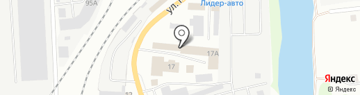 Сантрейд на карте Ижевска
