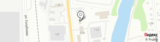 KVM-снаб на карте Ижевска