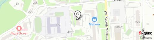 Богатов-К на карте Ижевска