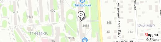Магазин чулочно-носочных изделий на карте Ижевска