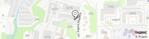 АС Сервис на карте Ижевска