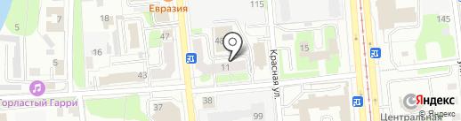 Рутайм на карте Ижевска