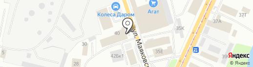 КБ Мебель на карте Ижевска
