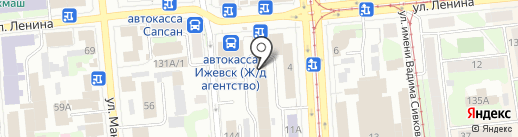 Пирс-Информ на карте Ижевска