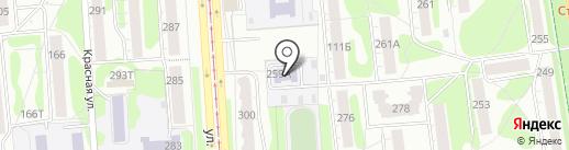 Вишневый садик на карте Ижевска