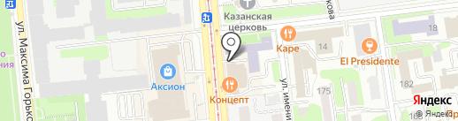Эссима на карте Ижевска