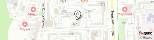 СОБОЛЬ на карте Ижевска