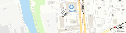 КОМИС на карте Ижевска