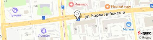 Оникс на карте Ижевска