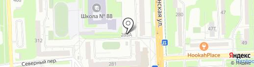 Белорус на карте Ижевска