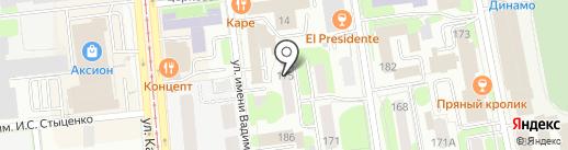 Университет Новых Профессий на карте Ижевска