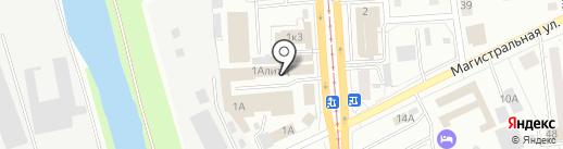 Бензоинструмент на карте Ижевска