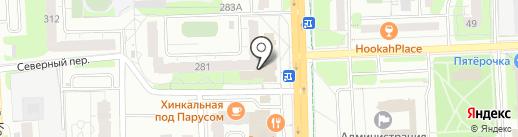 Магазин молочных продуктов на карте Ижевска