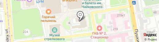 СИГМА на карте Ижевска
