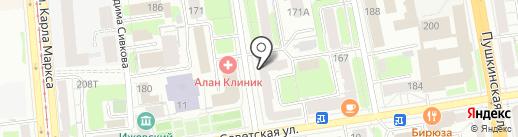 ТРОДАТ УРАЛ на карте Ижевска