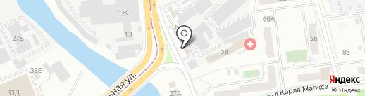Vin-Авто на карте Ижевска