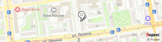 Дракон на карте Ижевска