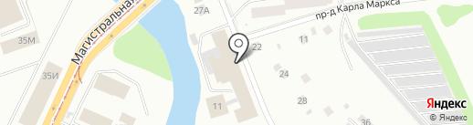 Штурман-Авто на карте Ижевска