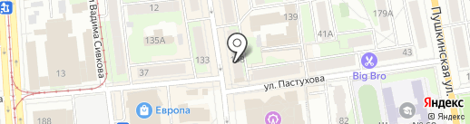 Фосборн Хоум на карте Ижевска