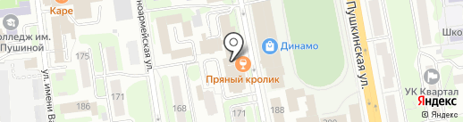 Банкомат, Мособлбанк, ПАО на карте Ижевска