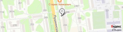 Snowimage на карте Ижевска