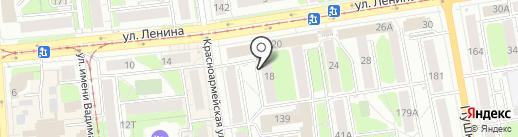 Золотые ручки на карте Ижевска